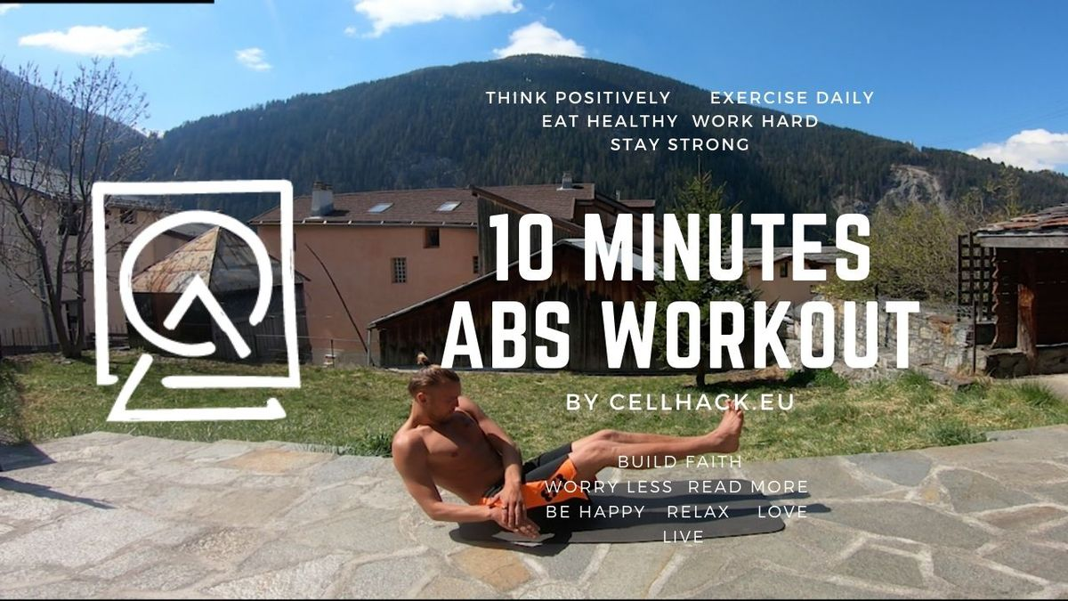 Read more about the article 10 minute ABS Workout (Home edition)